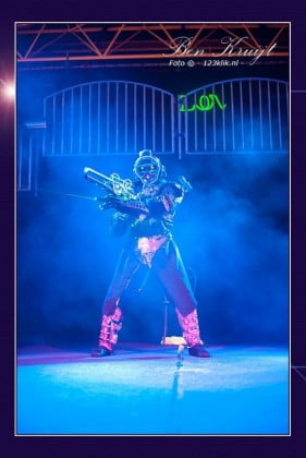 GoGo Jeffry (ROBOT ACT) - Glamour Entertainment