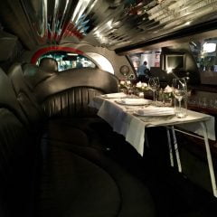 Limousine tour with champagne